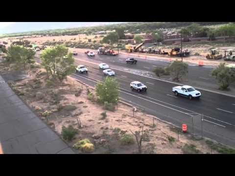 Balloon adventure over Albuquerque highway #6