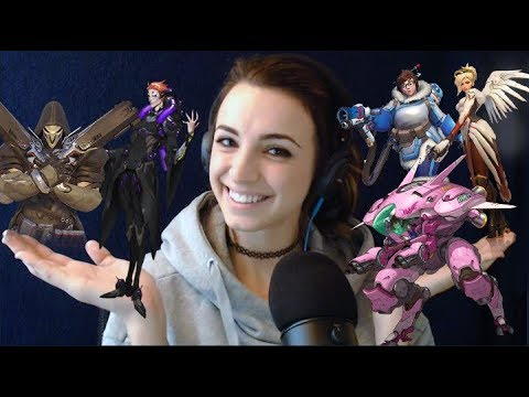 ASMR Overwatch Gameplay (Close-up Whispering)