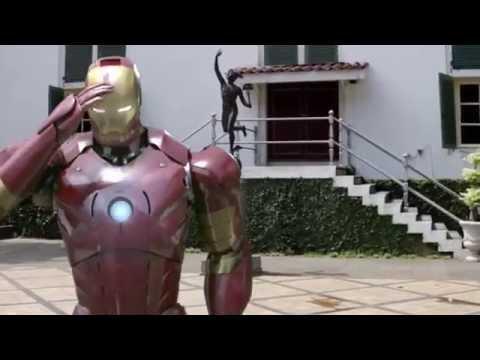 Lucu [versi Avengers] Age of Ultron Goyang Dumang
