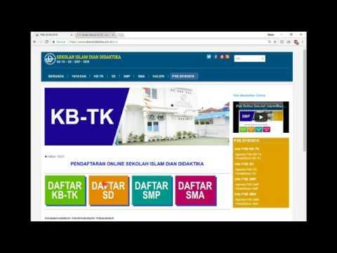 Tatacara Mendaftar Online & Konfirmasi