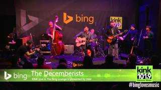 The Decemberists - Lake Song (Bing Lounge)