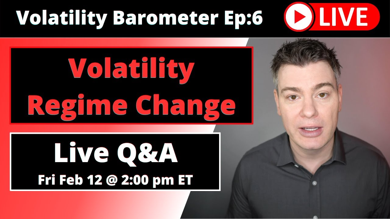 VTS Livestream #6)  Volatility Regime Change since February 2018