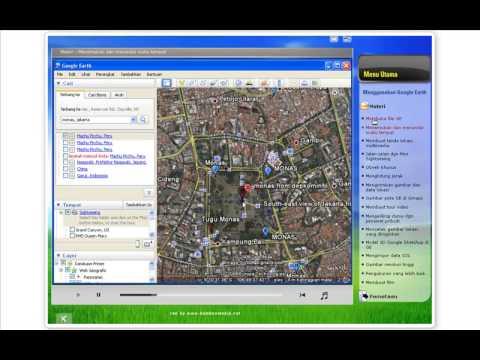 Demo tutorial memanfaatkan GOOGLE EARTH