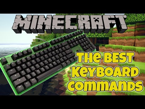 Minecraft Keyboard Commands Change Time Change Gamemode Turn Off Rain