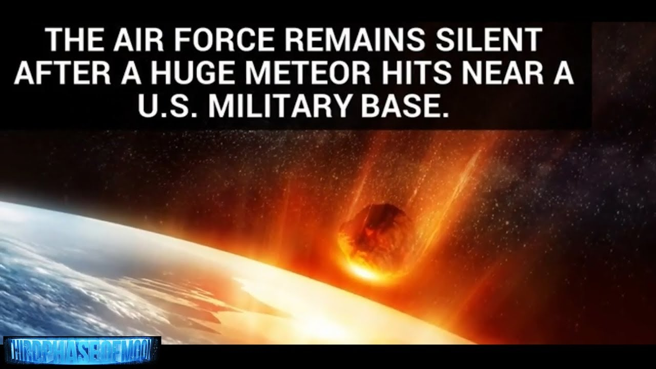 Air Force Remains Silent After Mysterious Impact Near US Military Base! 2018 - What Just Happened Over Greenland?  Air Force Remains Silent After Mysterious Impact Near US Military Base! 2018