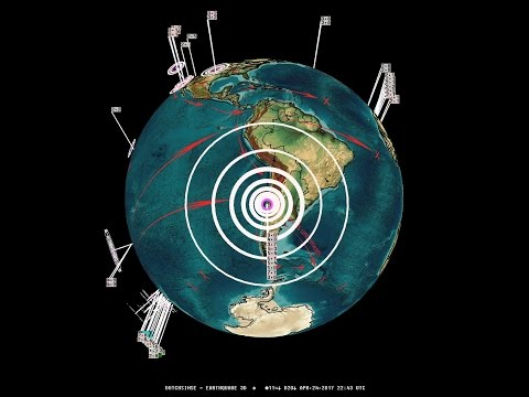 4/24/2017 -- M7.1 (M6.7) strikes South America / Chile -- Large shake reports coming in