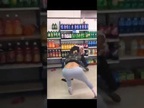 Hood Fight in Newport News Store (Viral Video)