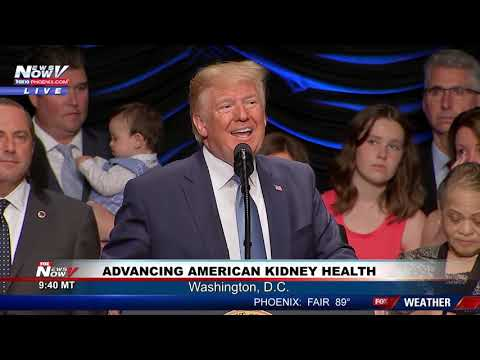 EXECUTIVE ORDER: President Trump Advancing American Kidney Health