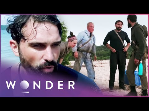 Team Of Engineers Build Escape Vehicle From Shipwrecked Boat (Part 1) | Escape EP4 | Wonder
