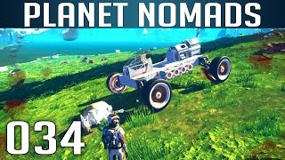 PLANET NOMADS [034] [Kleiner Verkehrsunfall] [S01] Let's Play Gameplay Deutsch German thumbnail