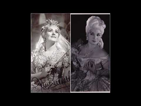 Dame Joan Sutherland and Oralia Dominguez sing Baroque Bravura