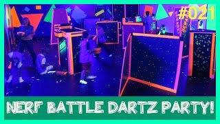 A Battle Dartz, Nerf Birthday PARTY!