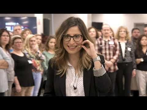 Mónica Galán Bravo, instructora de actividades de Alto Impacto.