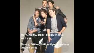 One Direction Truly Madly Deeply Magyarul