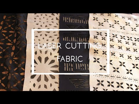 Laser cutting and engraving on fabric | Tips & Advice