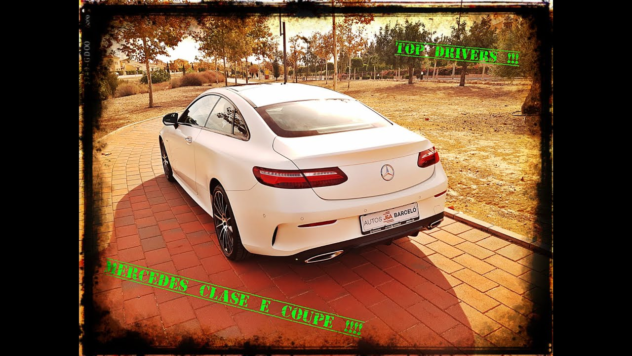 Mercedes Benz clase E COUPE 300 EDITION 1