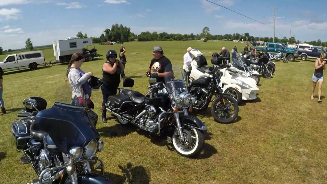 Bike rally gives church opportunity to share gospel with