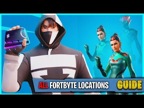 ALL FORTBYTE LOCATIONS 1 - 100 IN ORDER  Fortnite Season 9