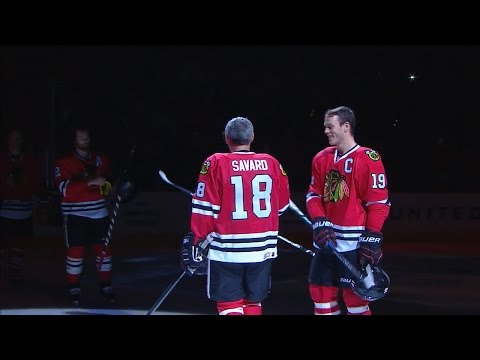 Chicago Blackhawks pay tribute to Denis Savard (One More Shift)