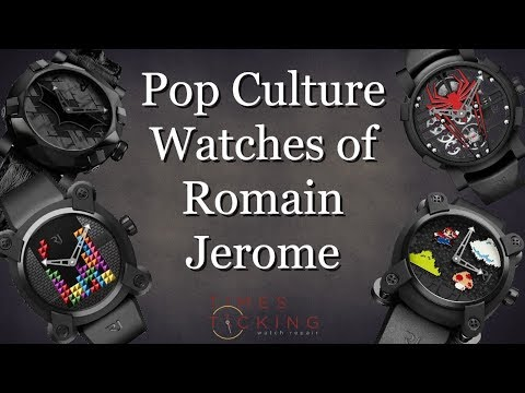 Romain Jerome - Pop Culture Luxury Watches