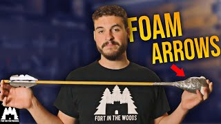 $4 DIY Nerf Arrow | Launching a Pie into the FACE