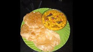 #Pooja Special || #Odia #Habisha Puri Matar Curry Without #Onion #Garlic Recipe || Quick Recipe