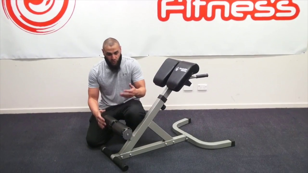 45 Hyper Extension Bench Youtube