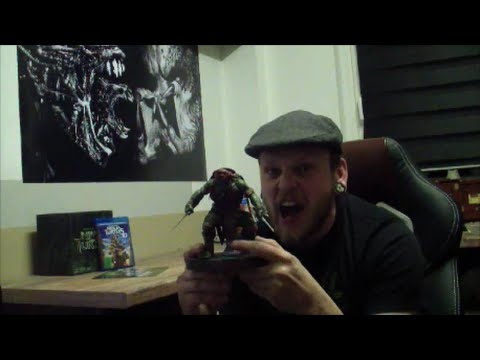 Unboxing Blu Ray 3D Teenage Mutant Ninja Turtles - Special Edition - deutsch