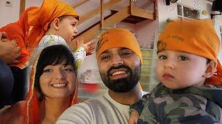 TAKING OUR BABY NOAH TO THE GURDWARA SAHIB | WAHEGURU JI 🙏