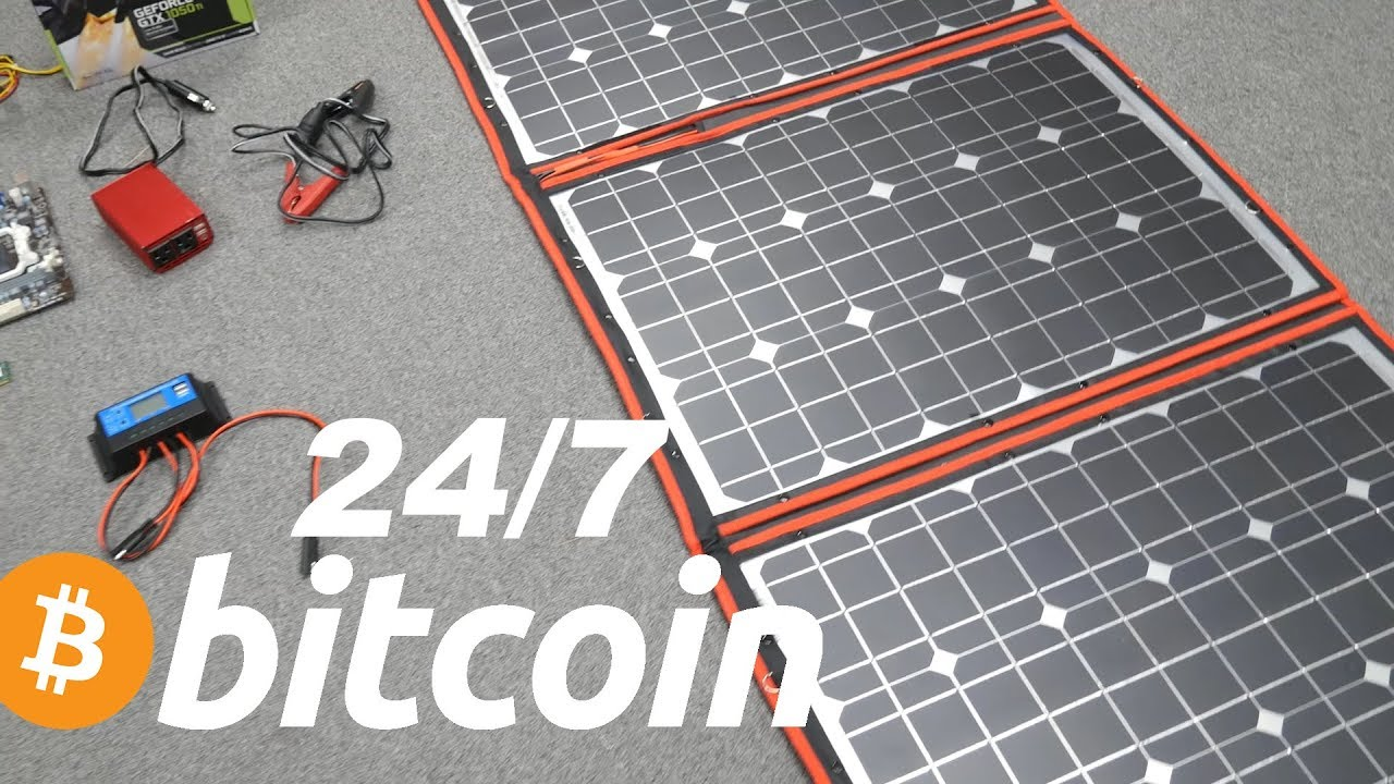 Solaranlage Garage How Much Can You Make Mining Bitcoin On Solar 24 7 With Battery Gpu Giveaway 4k Part 1