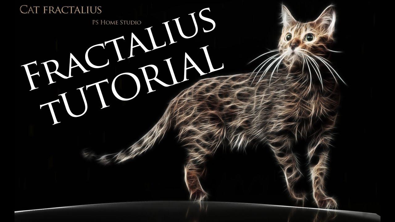 Full fractalius plug-in free   photoshop tutorial youtube.