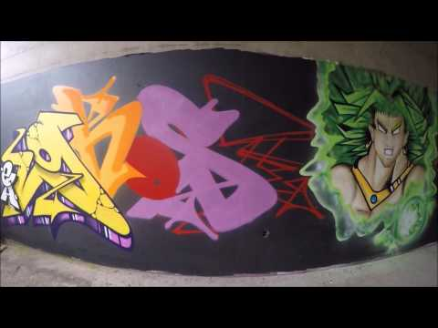 Graffiti - Ghost EA & Skema RSK - Rise Of The RSK