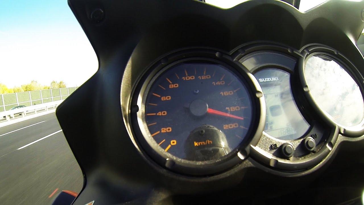 Suzuki V Strom Top Speed