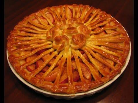 Как испечь яблочный пирог из дрожжевого теста