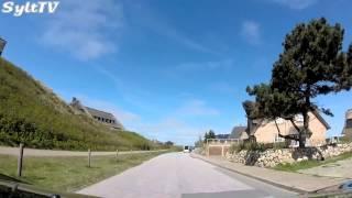 Rantum auf Sylt Kamerafahrt durch den Ort