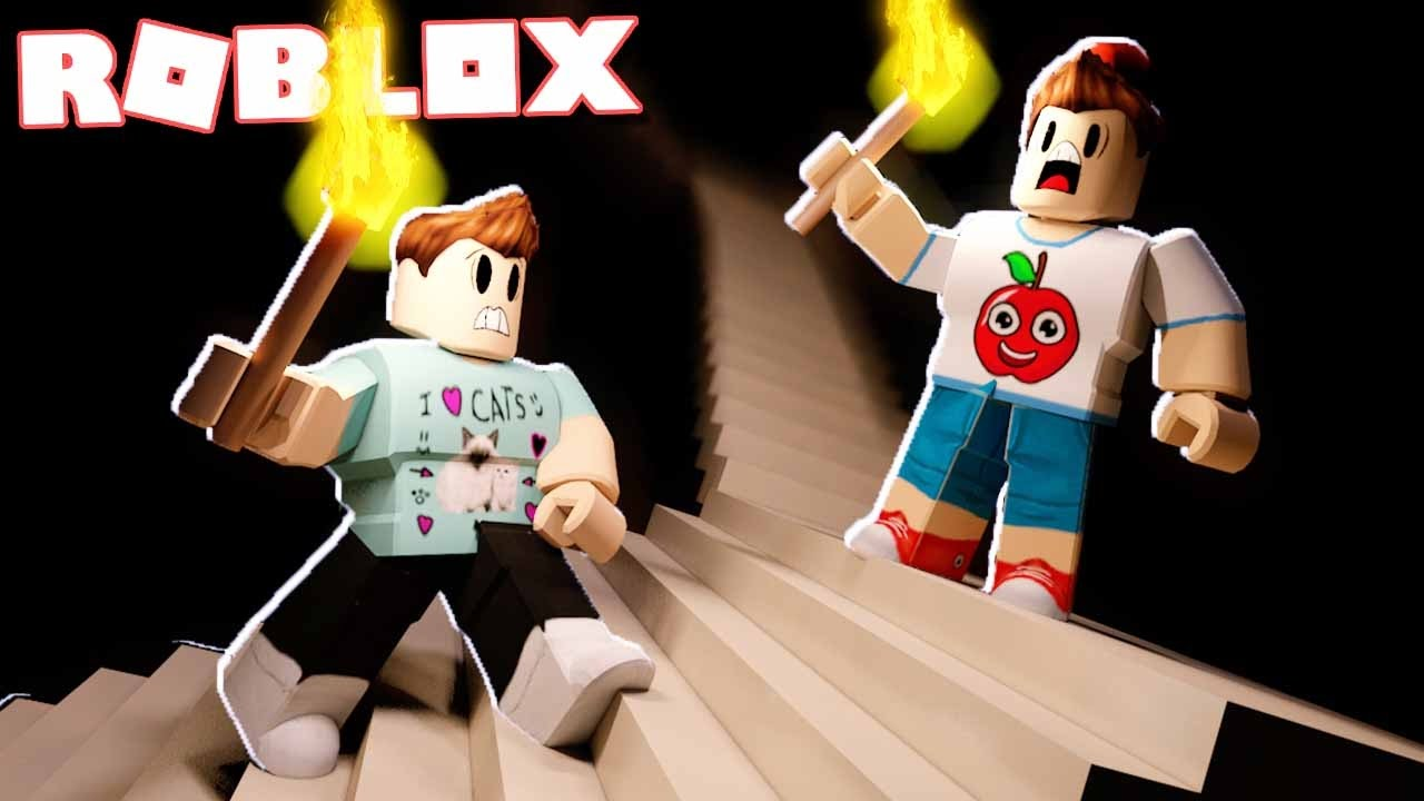Roblox Adventures Climb The Scary Horror Stairs In Roblox The