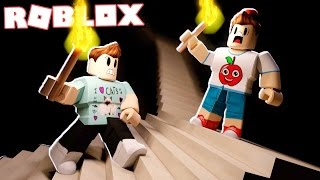 Roblox Adventures - CLIMB THE SCARY HORROR STAIRS IN ROBLOX! (Die Treppe)