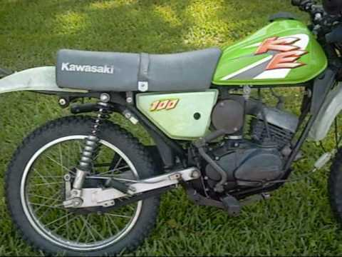 Kawasaki KE100 1999 - YouTube