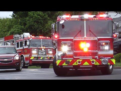 Download Fire Trucks Responding Compilation #15