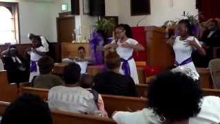 I Know my Redeemer Lives, Nicole C. Mullen-1/1Praise Dance.