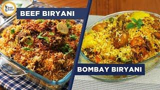 Bombay biryani and Beef Biryani Recipes by Food Fusion