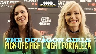 Octagon Girls Pick UFC Fight Night 106