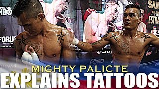 PALICTE EXPLAINS HIS TATTOOS AT MEDIA WORKOUT AHEAD OF SUPERFLY 3