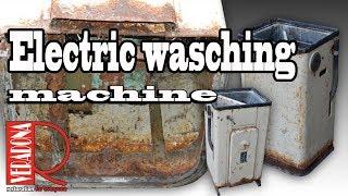 washing machine [Restoration]. Jak zrenovovat starou pračku.