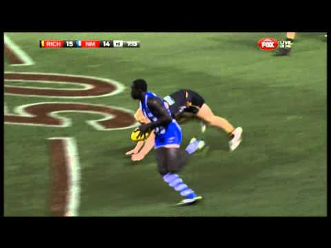 NAB Cup 2013 - Majak Daw don't argue and goal