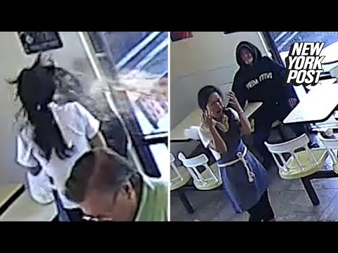 Customer throws hot coffee in face of donut shop owner | New York Post