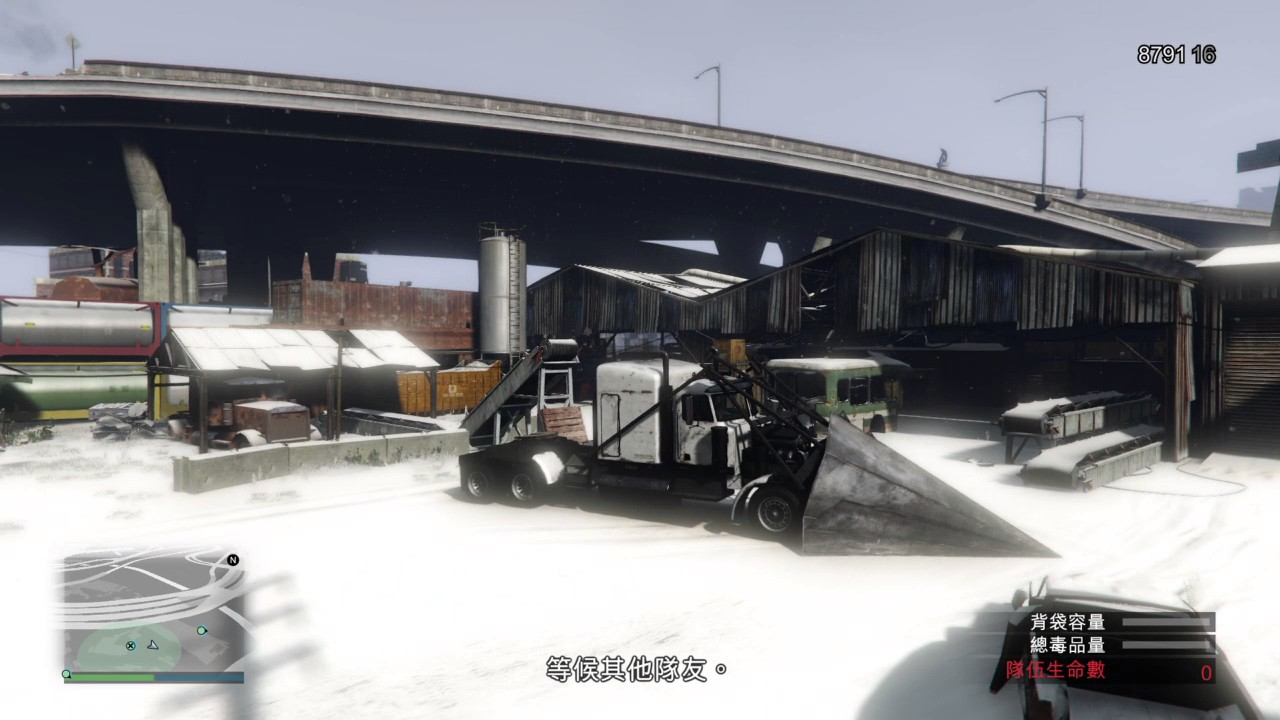 GTA5下雪了~玩特殊載具任務 - YouTube