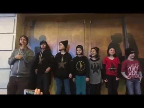 HAMILTON Ham4Ham 11/14/15 with The Hamilton Children