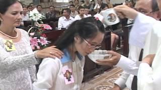 THÁNH LỄ RỬA TỘI TÂN TÒNG KHÓA 49 - GX THANH ĐA