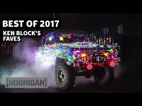 [HOONIGAN] DTT 184: Ken Block's Faves and Christmas Burnout! - Best of 2017